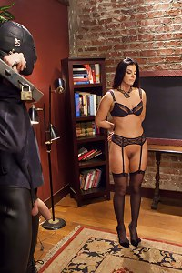MILF of the year India Summer taken down a notch. Hard discipline, painful predicament bondage, hard anal and pussy fucking, face fucking cock service