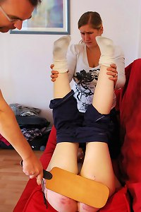 2 girls sharing an uppermost embarrassing punishment