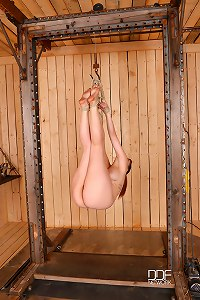 Bound Babe Gets Fisted &DP
