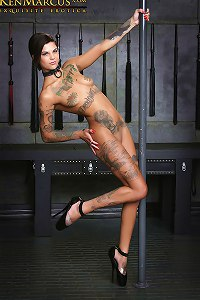 KenMarcus Sample Gallery Bonnie Rotten Tattoos Pole Dancing Suspension Bondage
