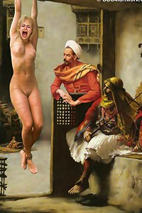 Slavegirls in an Oriental World. DAMIAN stunning images