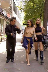 Coco Chanal gets publicly fucked, stripped naked and humiliated on the streets of Berlin. Coco
