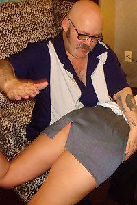Spanked Hotel Maid
